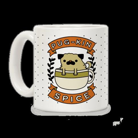 Pugkin Spice Coffee Mug