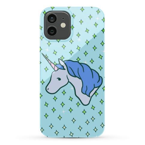 Magical Unicorn (Blue) Phone Case