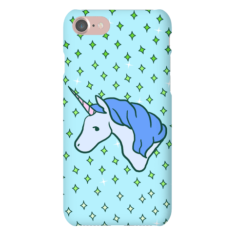 Magical Unicorn (Blue) Phone Case