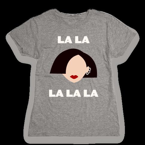 La La La (Jane) Womens T-Shirt