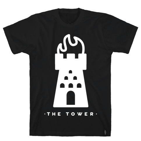 The Tower Mens T-Shirt