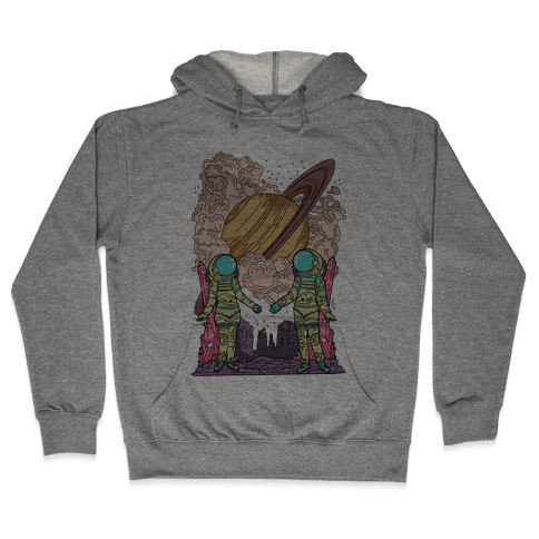 The Lovers in Space Hooded Sweatshirt