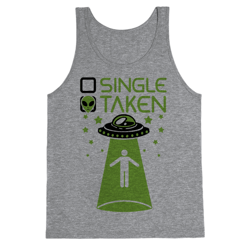 Single, Taken (UFO) Tank Top