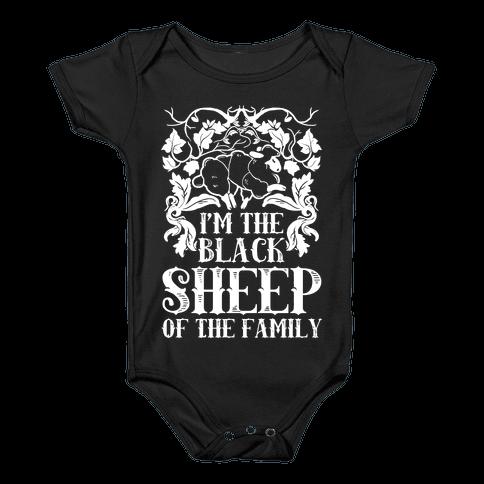 I'm The Black Sheep Of The Family Baby Onesy