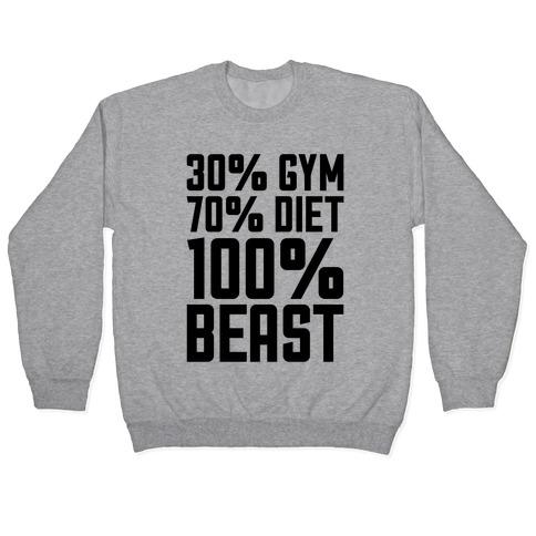 30% Gym, 70% Diet, 100% BEAST Pullover