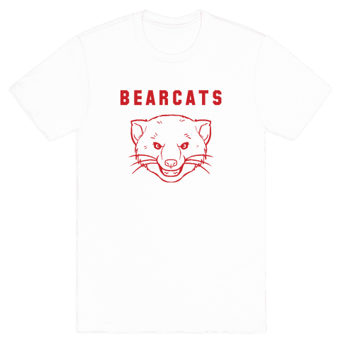 Bearcat Royal & White Mens T-Shirt