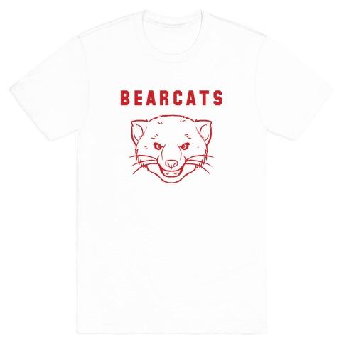 Bearcat Royal & White Mens T-Shirt