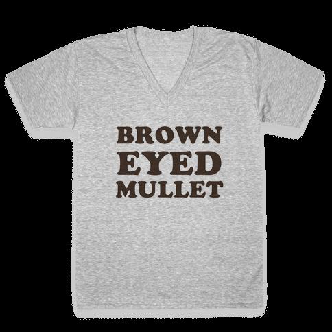 Brown-Eyed Mullet (v-neck)