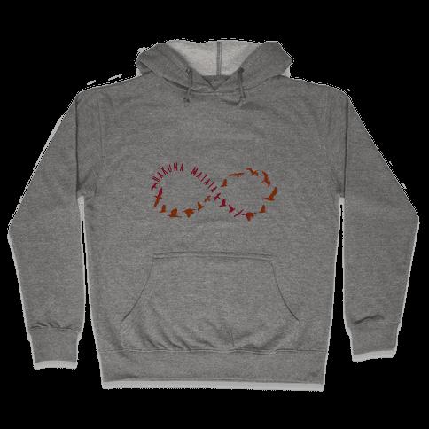 Hakuna Matata Infinity Hooded Sweatshirt