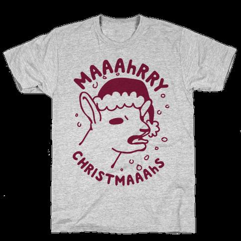 Maaahrry Christmaaahs Mens T-Shirt