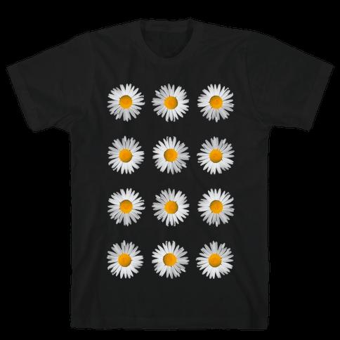 Daisies Mens T-Shirt