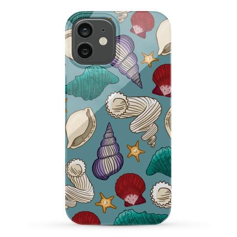 Seashell Pattern Phone Case
