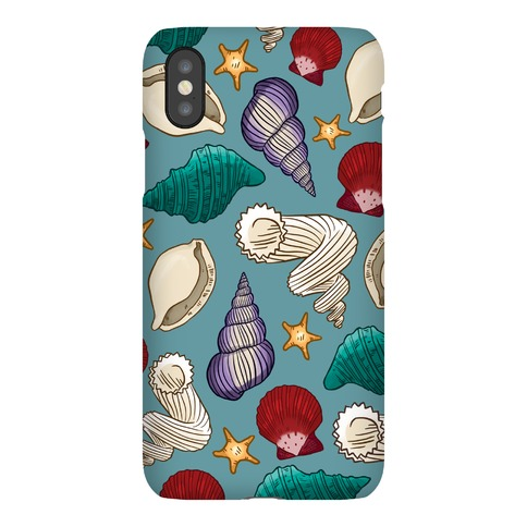 Seashell Pattern Phone Case