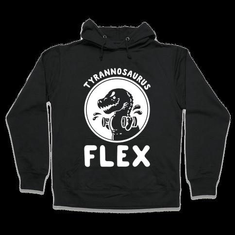 Tyrannosaurus Flex Hooded Sweatshirt