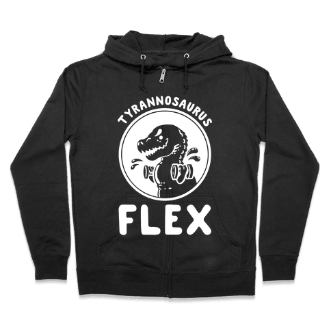 Tyrannosaurus Flex Zip Hoodie