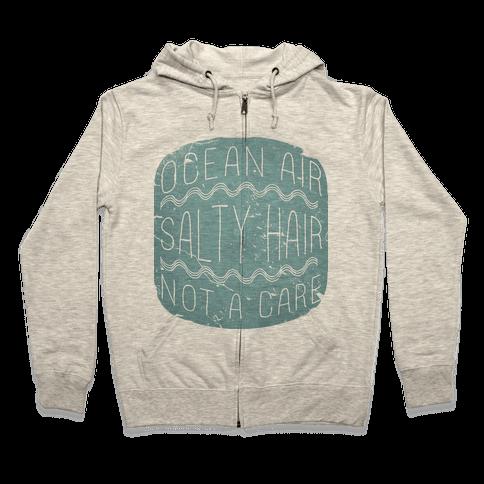 Ocean Air Zip Hoodie