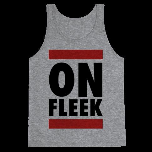 On Fleek (DMC Parody) Tank Top