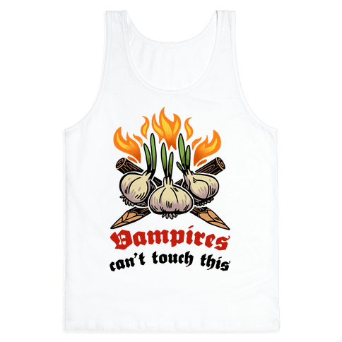 Vampires Can't Touch This Tank Top