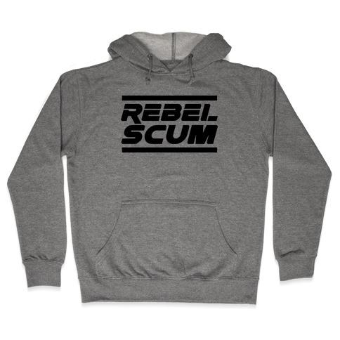 Rebel Scum Hooded Sweatshirt