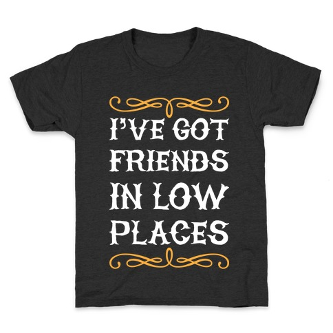 Low Places Kids T-Shirt