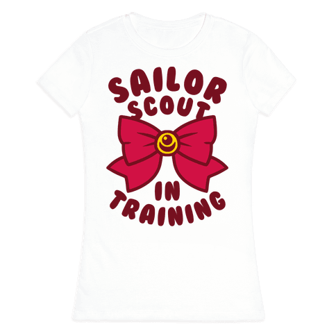 Sailor Scout In Training Womens T-Shirt