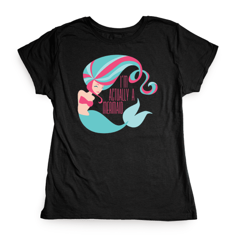 Mermaid Womens T-Shirt