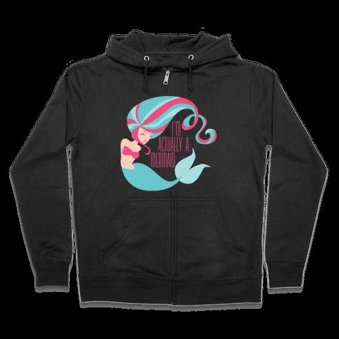 Mermaid Zip Hoodie