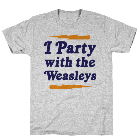 I Party With The Weasleys Mens T-Shirt