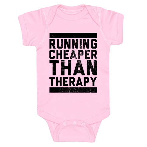 Running Baby Onesy