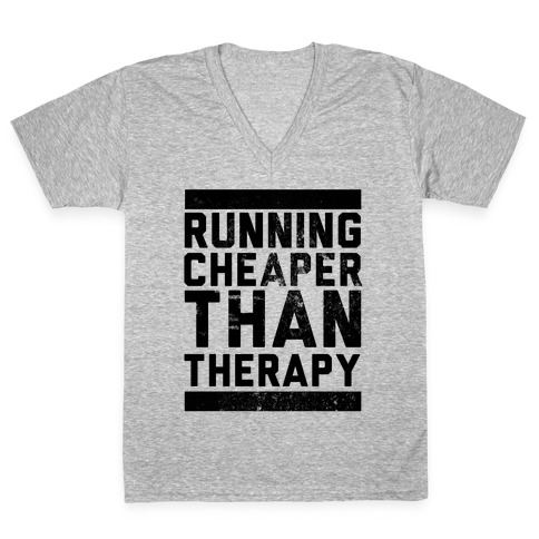 Running V-Neck Tee Shirt
