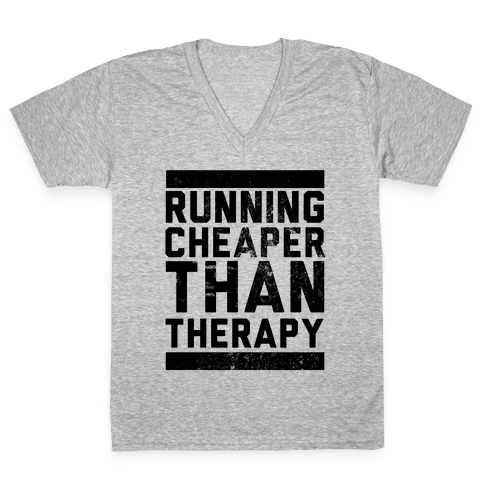 Running V-Neck Tee Shirt