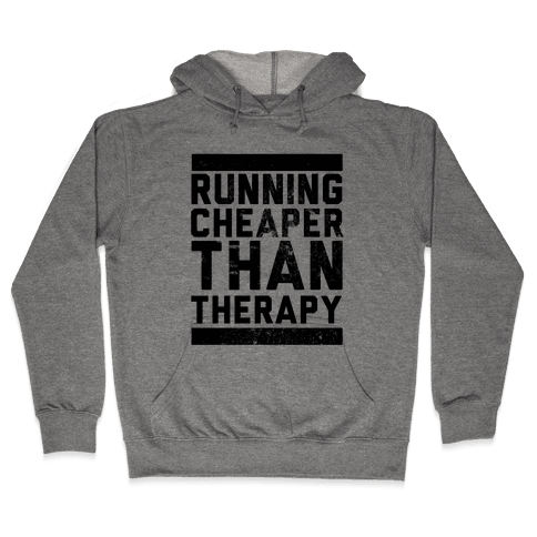 Running Hooded Sweatshirt