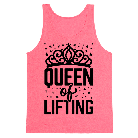 Queen Of Lifting Tank Top