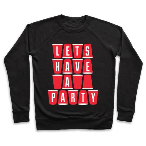 Let's Have a Party Pullover
