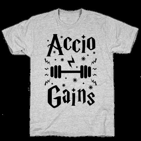 Accio Gains Mens T-Shirt