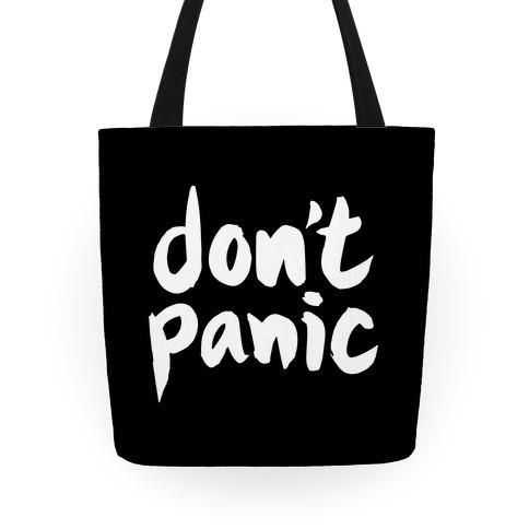 Don't Panic Tote