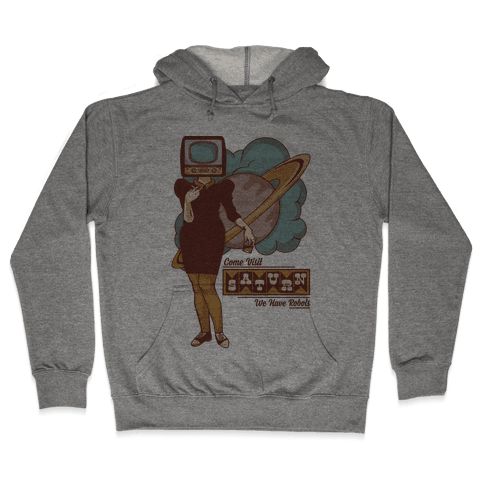 Come Visit Saturn Hooded Sweatshirt