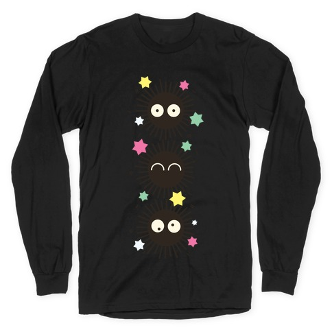 Happy Soot Sprites Long Sleeve T-Shirt