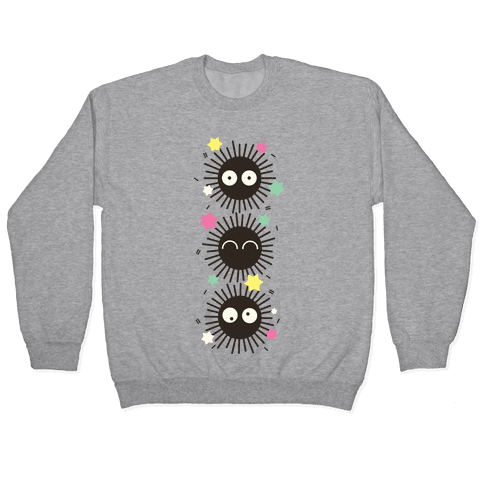 Happy Soot Sprites Pullover