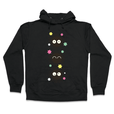 Happy Soot Sprites Hooded Sweatshirt
