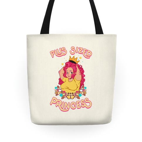 Plus Sized Princess Tote