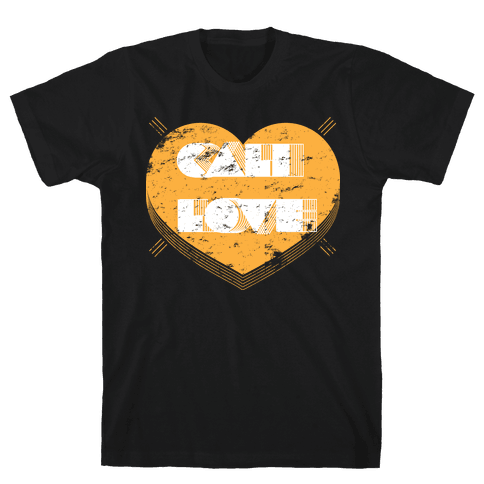 Cali Love Mens T-Shirt