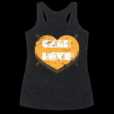 Cali Love Racerback Tank Top