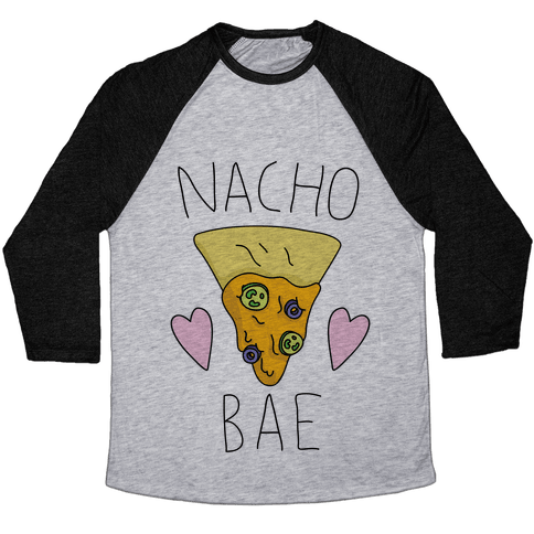 Nacho Bae Baseball Tee