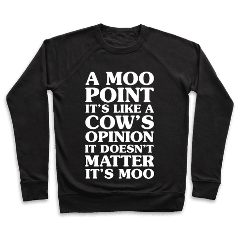 A Moo Point Pullover