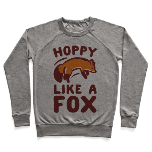 Hoppy Like A Fox Pullover