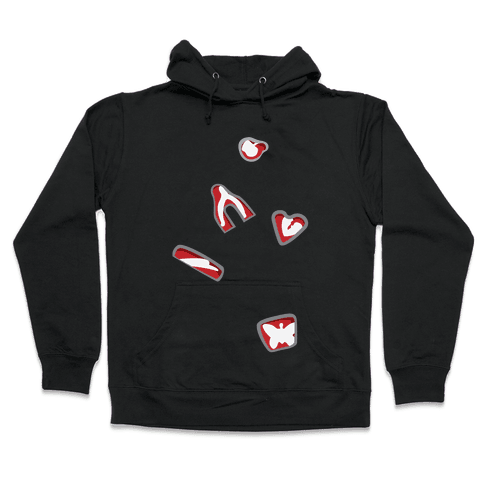 Water on the Knee Hooded Sweatshirt
