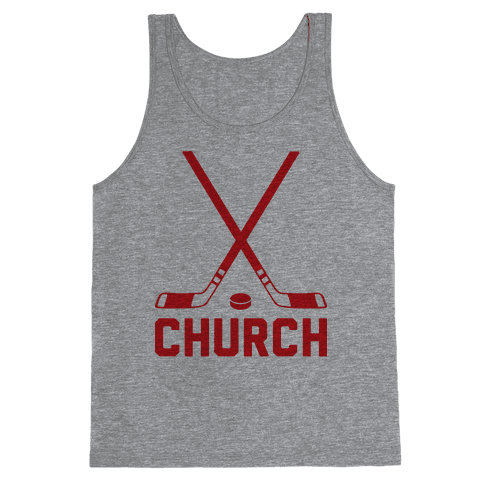 Hockey Church Tank Top