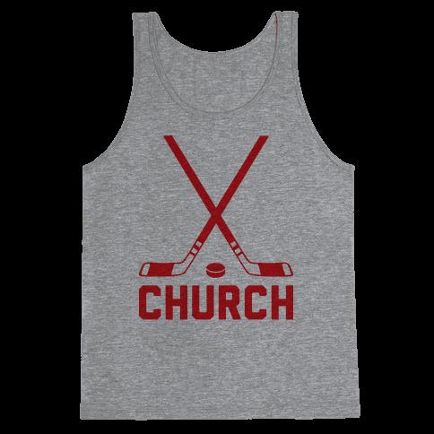 Hockey Church Tank Top