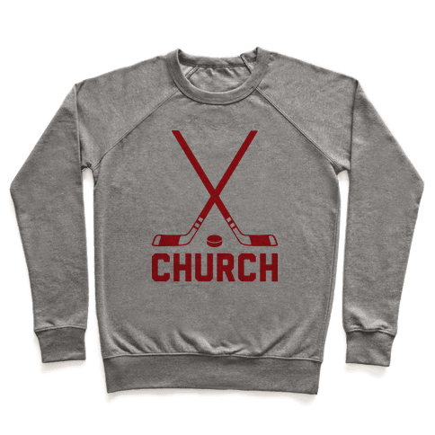 Hockey Church Pullover